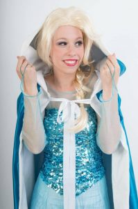 Elsa inhuren prinses REND Enetrtainment