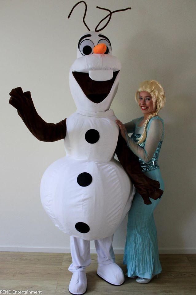 Inhuren Olaf en Elsa REND Entertainment