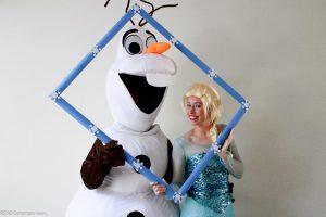 Inhuren Olaf en Elsa huren REND Entertainment