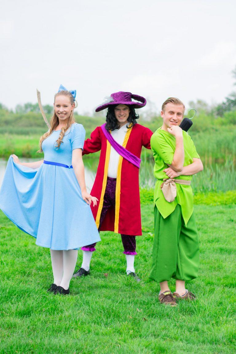Peter Pan Kapitein Haak Wendy