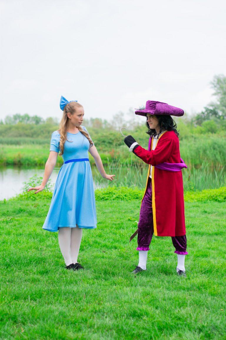 Peter Pan Wendy Kapitein Haak in het theater