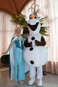 Elsa huren Olaf inhuren REND entertainment
