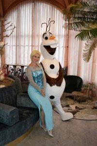 Olaf en Elsa huren feestje evenement