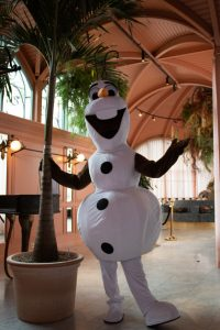Olaf in de zomer REND entertainment