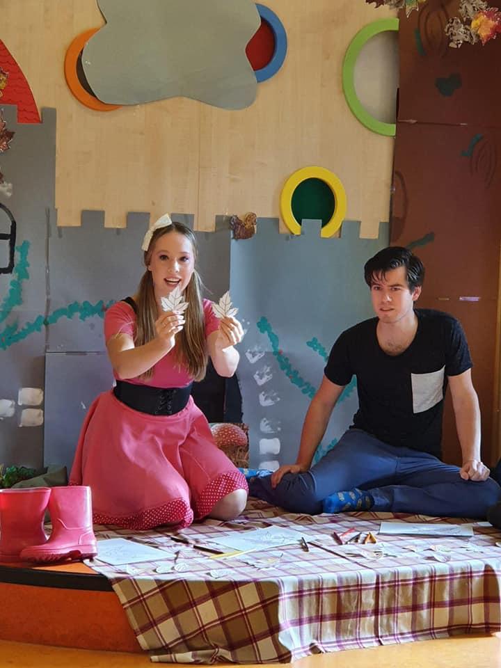 Ruby & Daan Interactief theater BSO school opvang herfst