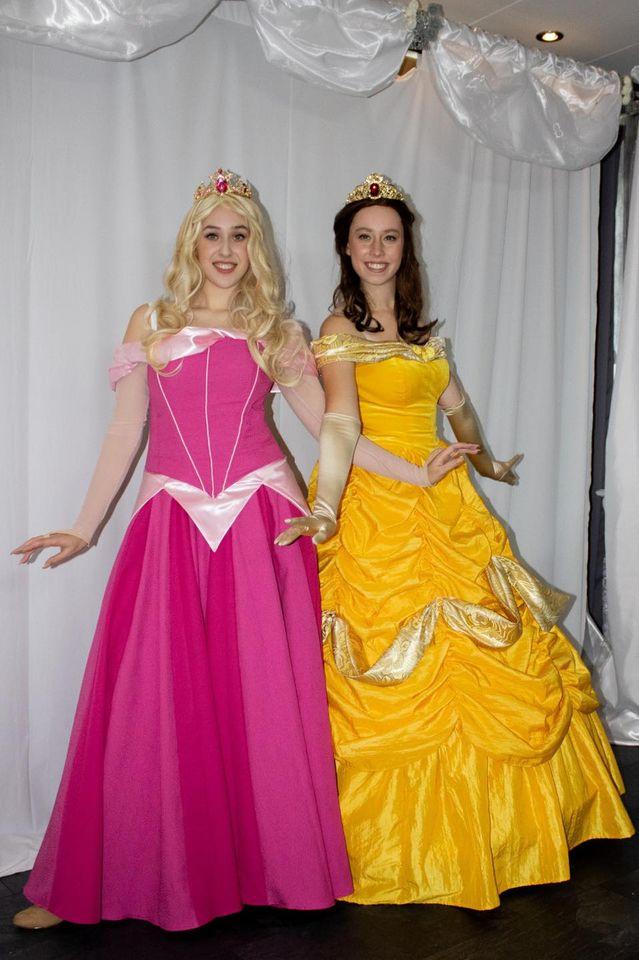 Belle en Doornroosje prinsessen duo REND Entertainment kinderfeestje