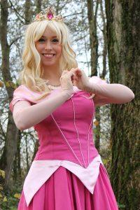 Doornroosje prinses huren inhuren REND entertainment kinderfeest
