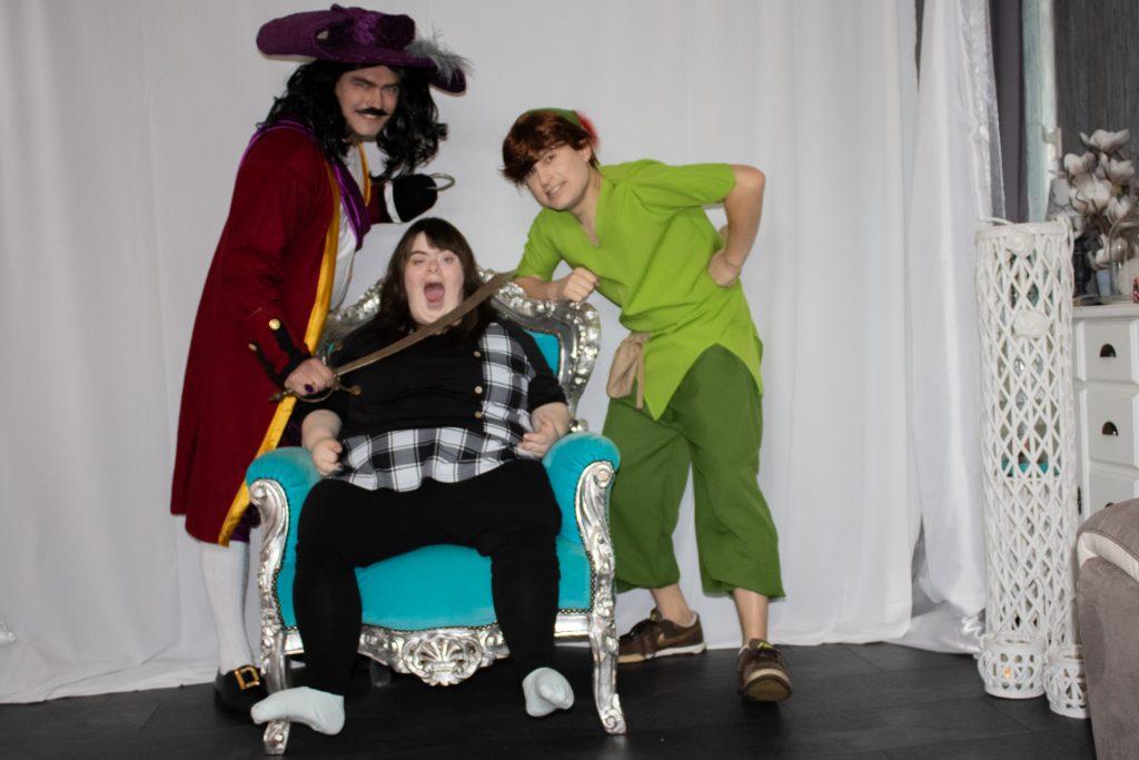 Peter Pan PeterPan Kapiteinn Haak Hook Kinderfeest