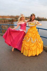 Doornroosje huren Belle huren Frozen
