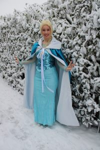Elsa Frozen huren Elsahuren Frozenfeestje