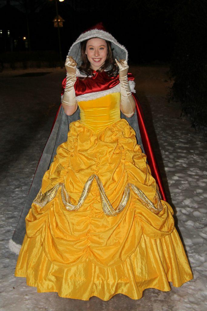 Belle huren kinderfeestjes sneeuw belle sneeuwbelle entertainment
